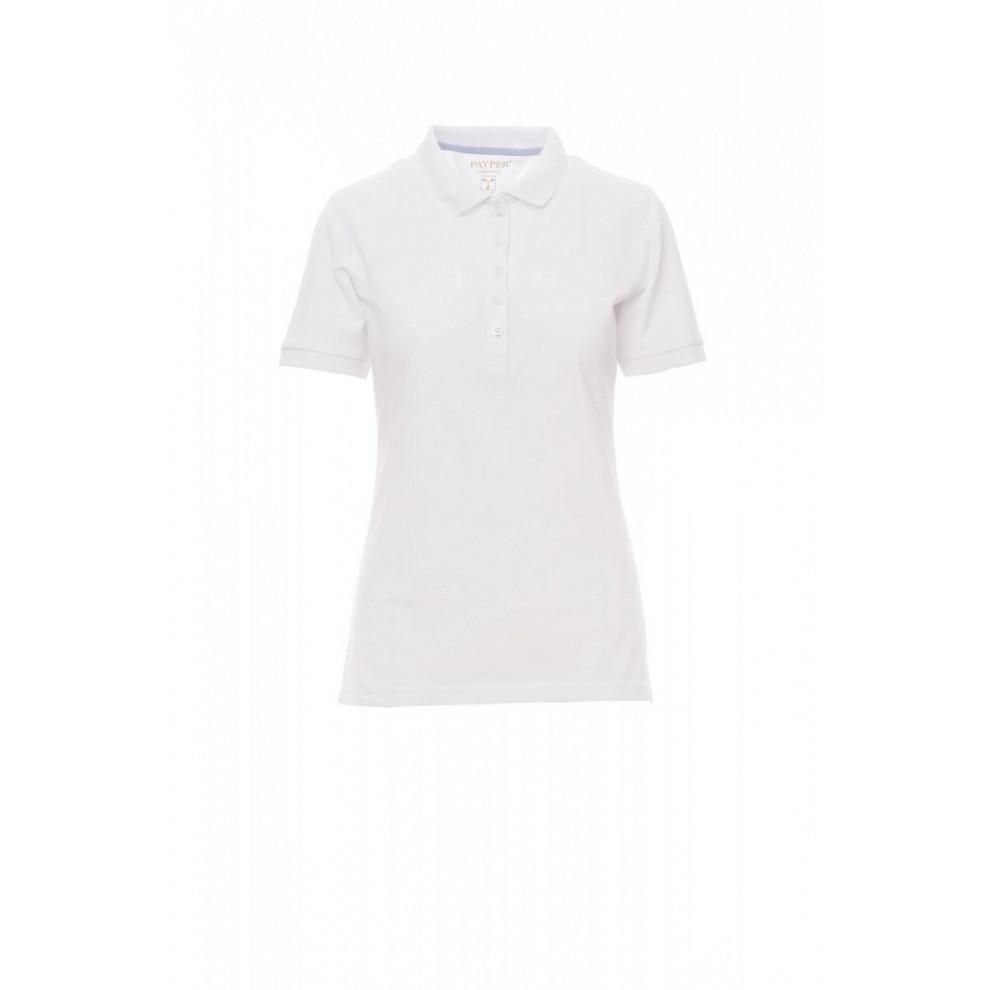 Polo Manica Corta Piquet 190Gr Glamour S Bianco