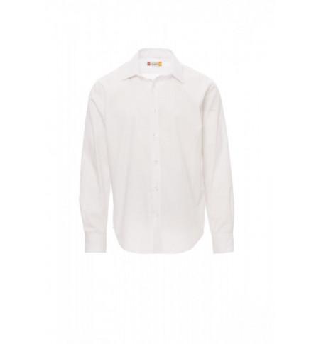 Camicie Manica Lunga Easy Care Popeline 125Gr Con 65% Poliestere Brighton S Bianco