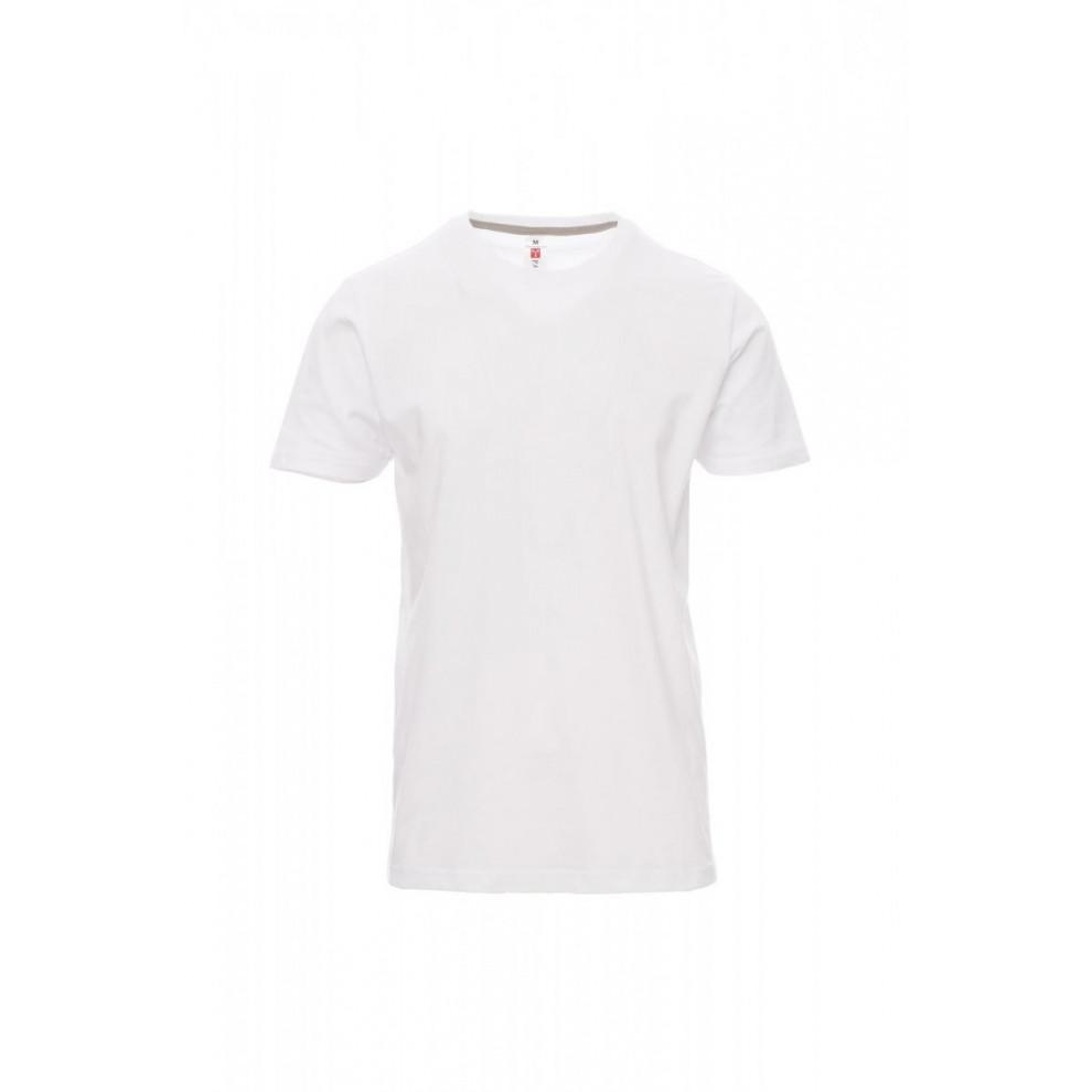 T-Shirt Manica Corta Jersey 190Gr Sunrise Xs Bianco