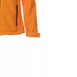 Soft-Shell No Imbottito Con Cappuccio Soft Shell Mechanical Stretch 320 Gr Gale Lady S Arancione