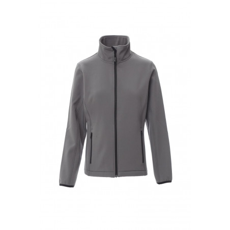 Soft-Shell No Imbottito Soft Shell Mechanical Stretch 280 Gr Perth Lady L Steel Grey