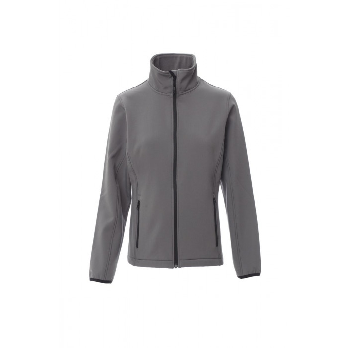 Soft-Shell No Imbottito Soft Shell Mechanical Stretch 280 Gr Perth Lady Xl Steel Grey