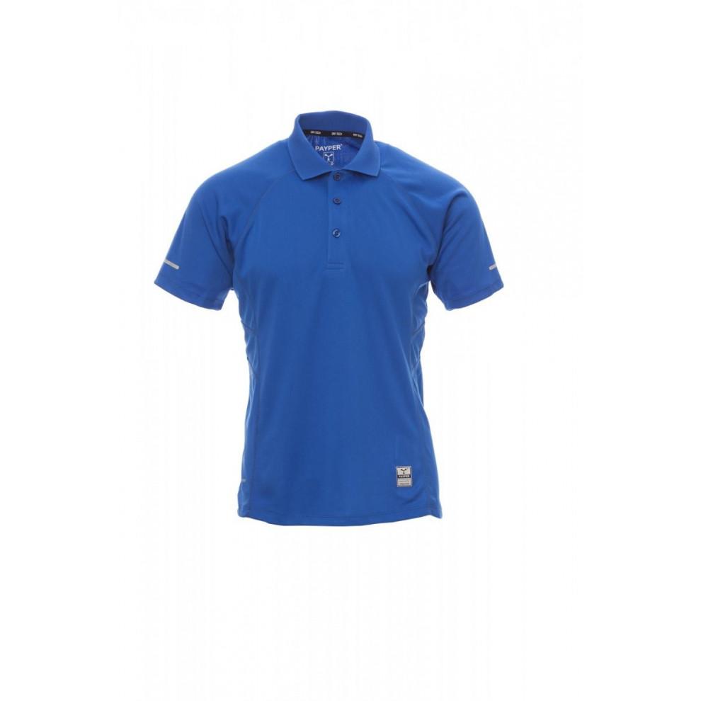 Polo Manica Corta Dry-Tech 150Gr Training S Blu Royal