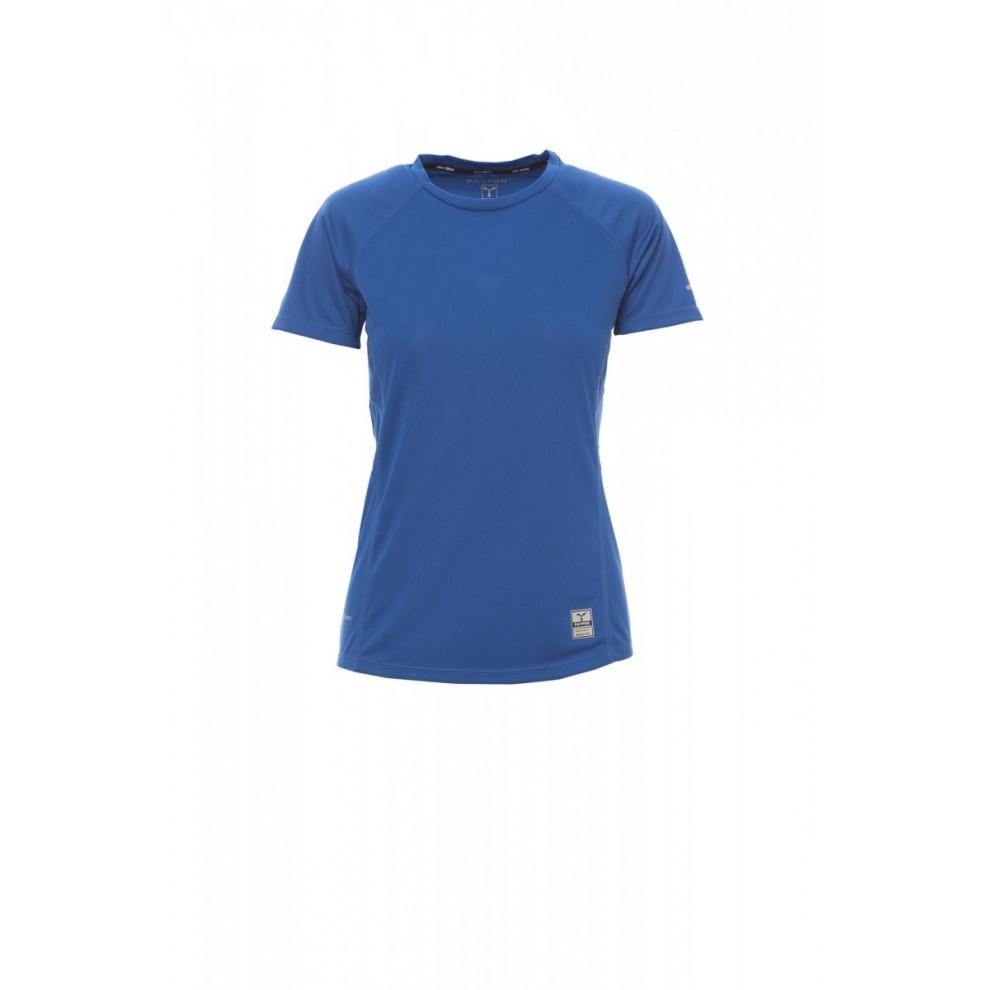 T-Shirt Manica Corta Dry-Tech 150Gr Running Lady S Blu Royal
