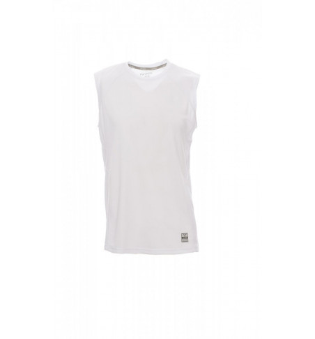 T-Shirt Senza Maniche Dry-Tech 150Gr Smash S Bianco